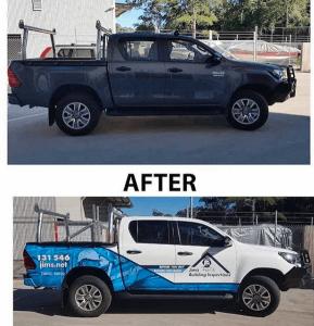 Vehicle Wrap Jim's