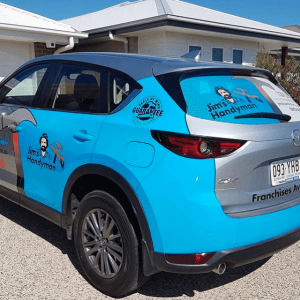 Vehicle Wrapping For Handyman