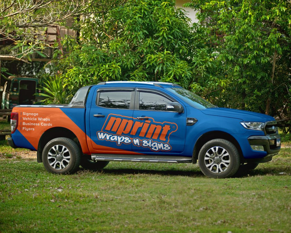 Vehicle Wrap Sunshine Coast